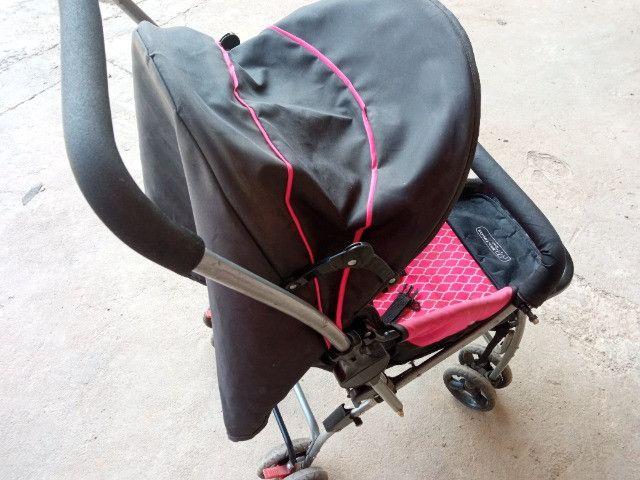 Carrinho De Bebê Flip Multikids até 15Kg - Foto 3
