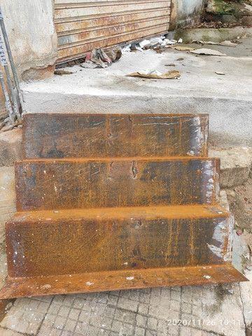 Portão basculante, escada de chapa de ferro ,leia a descrição - Foto 6