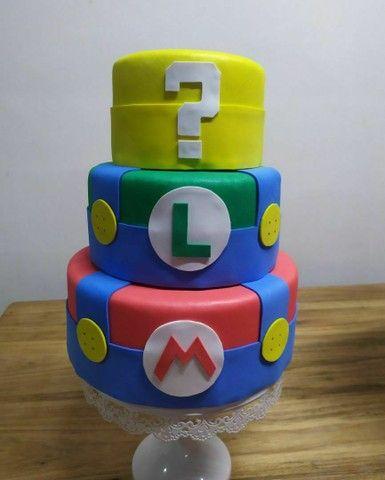 Bolo fake Super Mario (Mario bross) - Foto 2