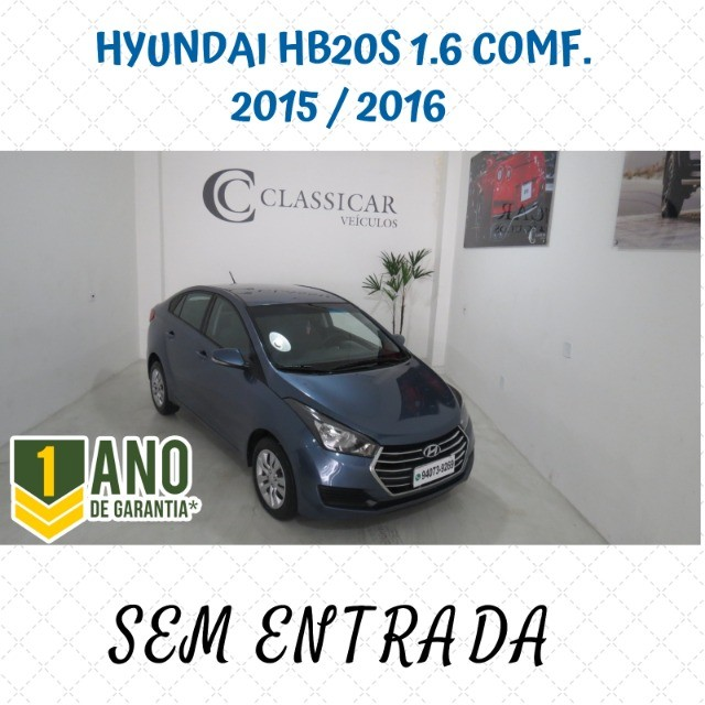 Hyundai HB20S 1.6 Comfort Plus Flex 4p