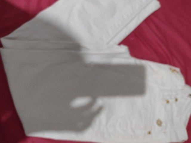 Calça jeans da handara, tam.42, cintura normal. Some nova - Foto 2