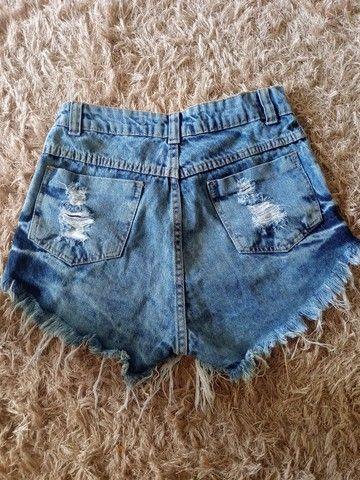 vendo short jeans 36 - Foto 4