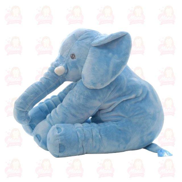 Elefante pelúcia pronta entrega super fofo e grande 60cm - Foto 2