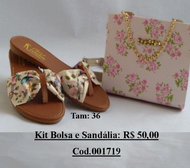 Kit Sandalia + Bolsa - Foto 3