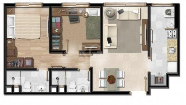 Apartamento à venda com 2 dormitórios em Floresta, Porto alegre cod:LI50878384 - Foto 18