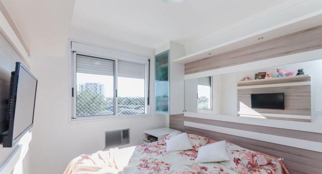 Apartamento à venda com 3 dormitórios em São sebastião, Porto alegre cod:JA11 - Foto 16