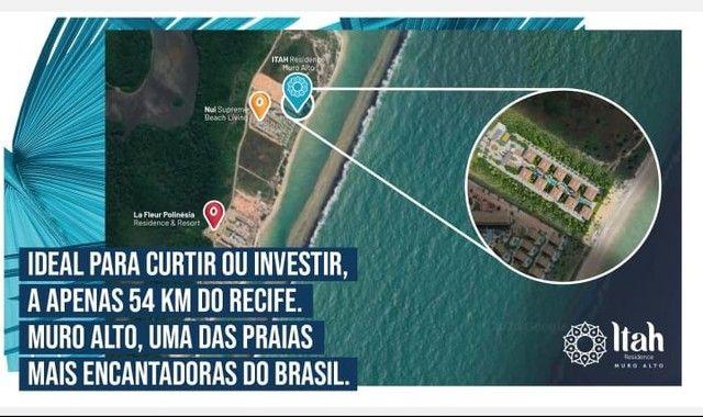 Flat com 2 dormitórios à venda, 56 m², térreo por R$ 630.000 - Praia Muro Alto, piscinas n - Foto 15