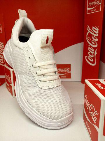 Tênis Coca-Cola mantra branco  - Foto 2