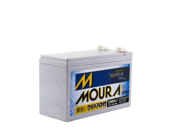 Bateria Estacionária (VRLA) Moura 12V 7 AH  - Foto 4