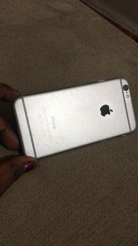iPhone 6  16g Prata bateria 100/ todo bom  - Foto 2