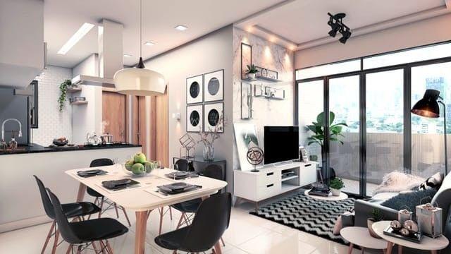 S38|Apartamento no Cristo| 56m| 2Q| 4° Andar| 1 VG - Foto 2