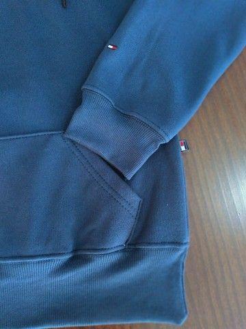 Blusa de moletom masculino pelúciado - Foto 3