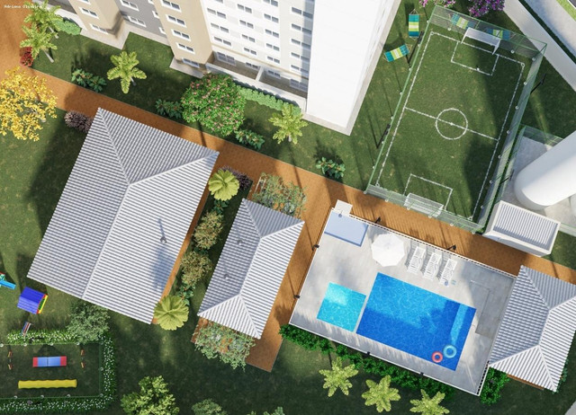 Apartamento para Venda em Goiânia, Urias Magalhães, 2 dormitórios, 1 suíte, 2 banheiros, 1