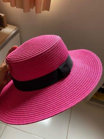 Chapéu Rosa pink - Foto 2