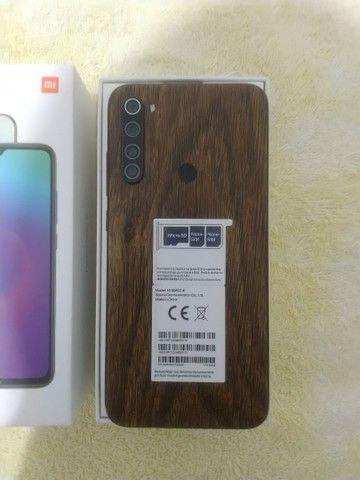 Xiaomi Redmi Note 8  passo cartão