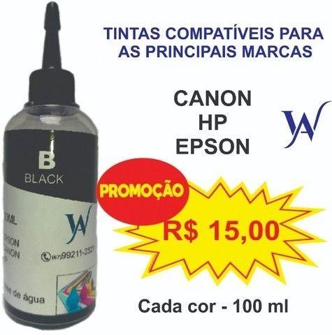 Tinta para impressora Epson 100 ML - Foto 2