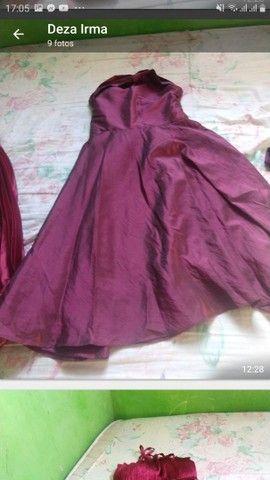 lote  de vestidos de festa  semi novos  - Foto 2