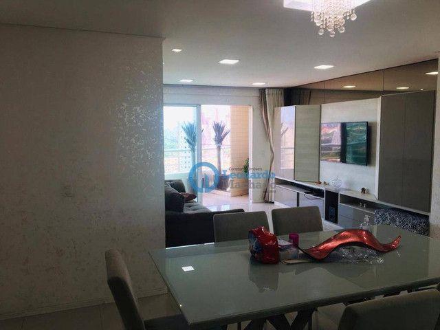 Apartamento com 3 dormitórios à venda, 135 m² por R$ 990.000 - Dionisio Torres - Fortaleza - Foto 3