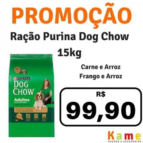 Ração Dog Chow 10kg e 15kg