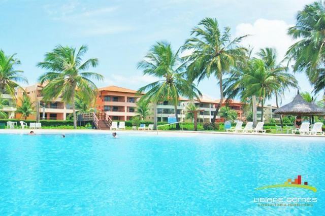 Aquaville Resort, Apartamento 3 Suítes, Mobiliado, Ceará