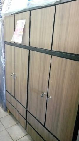 Guarda roupa madeira promoção 10x 100,00 cartão