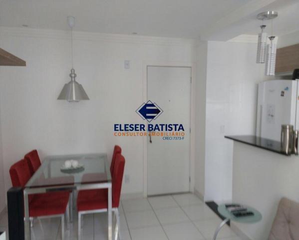 Apartamento à venda com 2 dormitórios em Colina de laranjeiras, Serra cod:AP00067 - Foto 6