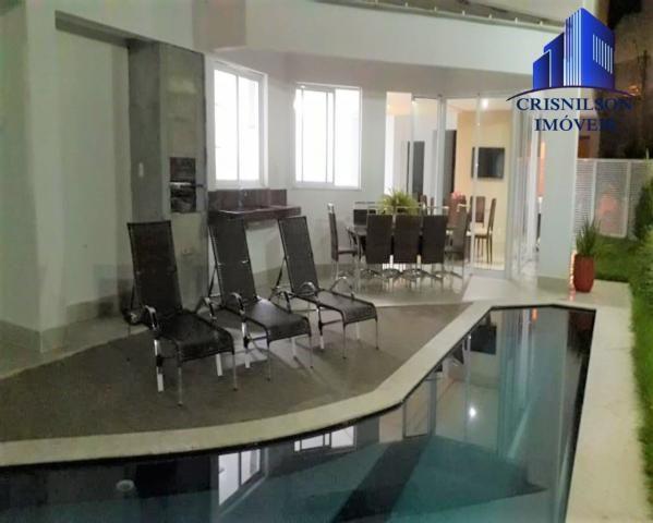Casa à venda alphaville salvador ii, nova, r$ 2.400.000,00, piscina, espaço gourmet! - Foto 2