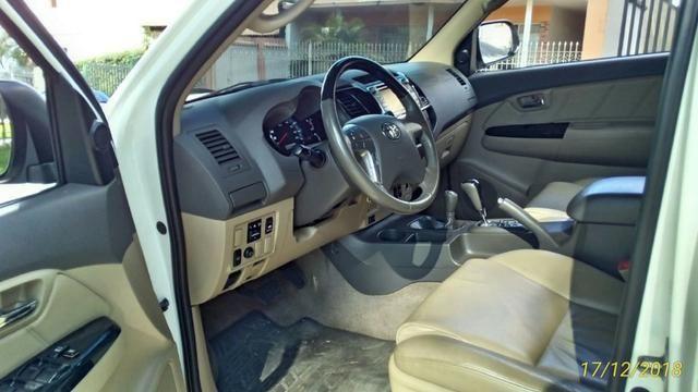 Toyota Hilux Sw4 3.0 4x4 Diesel 2013 -5 Lugares - Foto 9