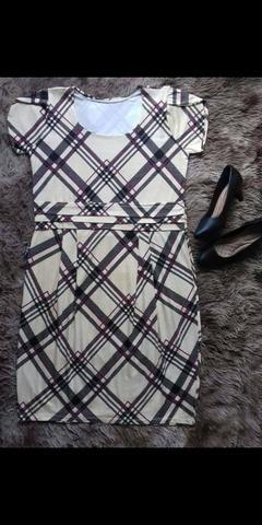 Vestido curto moderno GG - ? V'leny moda plus size ?