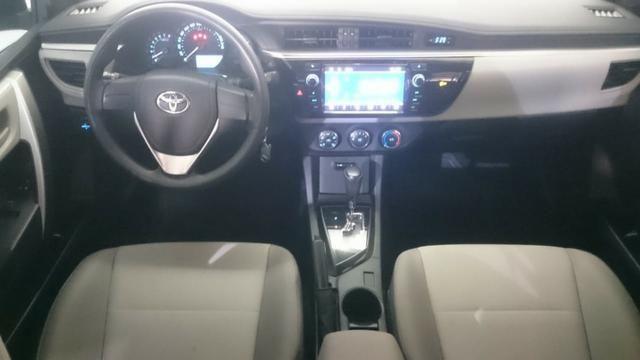 Corolla GLi Prata 1.8 Aut 2017 - Foto 10