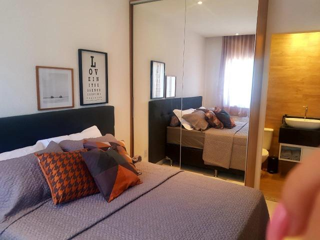 Ap de 2 quartos com suite reversível e quintal, Mario Covas- Vista do Bosque - Foto 4