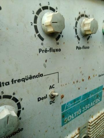 MS- Vendo Máquina de Solda TIG White Martins 360 AC/dc - Foto 2