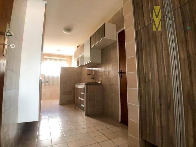 Apartamento projetado com 3 dormitórios, 2 vagas, à venda, 110 m², por r$ 275.000 - papicu - Foto 7