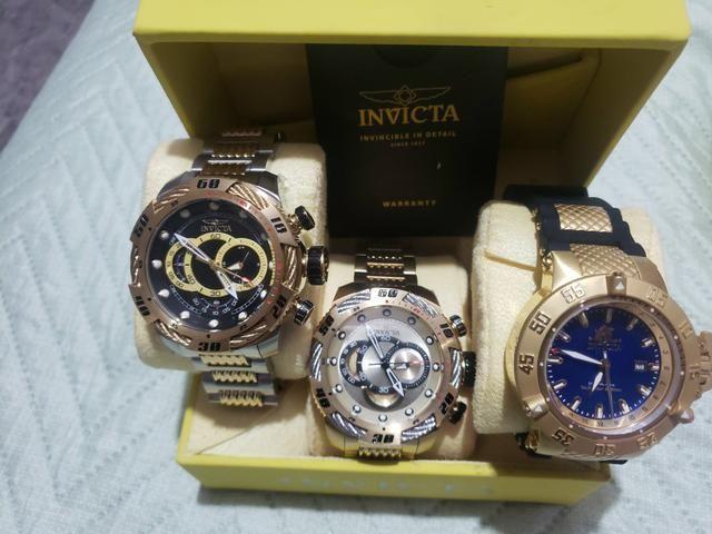 Coleção relógios INVICTA Originais - Foto 4