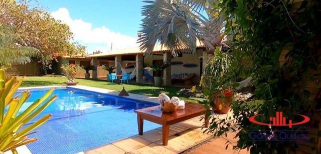 Casa com 5 dormitórios à venda, 350 m² por R$ 1.200.000 - Porto das Dunas - Aquiraz/CE - Foto 8