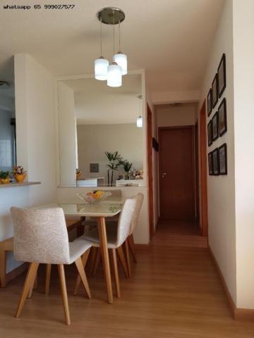 Apartamento para Venda em Cuiabá, Boa Esperança, 3 dormitórios, 1 suíte, 2 banheiros, 2 va