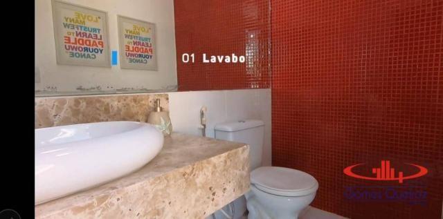 Casa com 5 dormitórios à venda, 350 m² por R$ 1.200.000 - Porto das Dunas - Aquiraz/CE - Foto 18