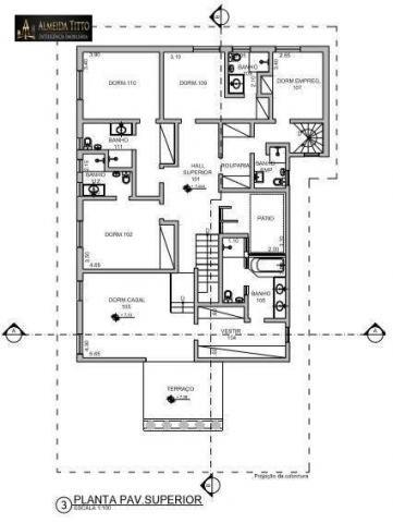 Excelente Mansão Para Locação ? Residencial Alpha 8 ? Área de Terreno 850 m² e Área Constr - Foto 17