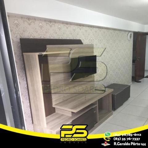 Flat com 1 dormitório para alugar, 1 m² por R$ 2.200,00/mês - Tambaú - João Pessoa/PB - Foto 6