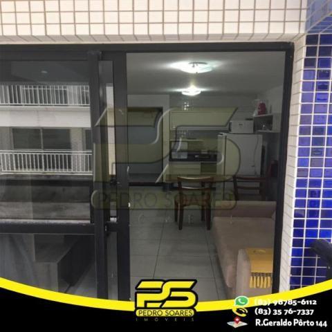 Flat com 1 dormitório para alugar, 1 m² por R$ 2.200,00/mês - Tambaú - João Pessoa/PB - Foto 18