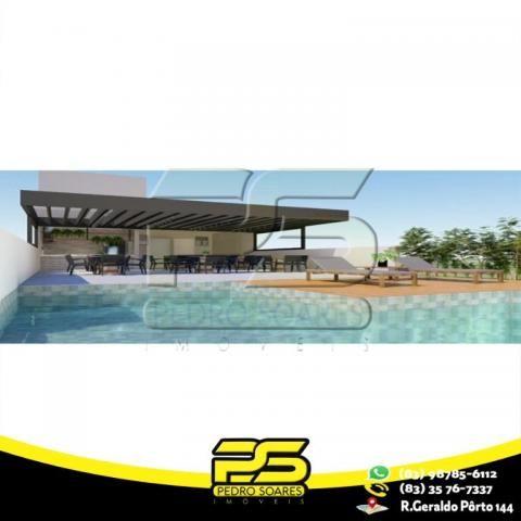 Flat com 3 dormitórios à venda, 60 m² por R$ 265.524 - Jardim Oceania - João Pessoa/PB - Foto 3
