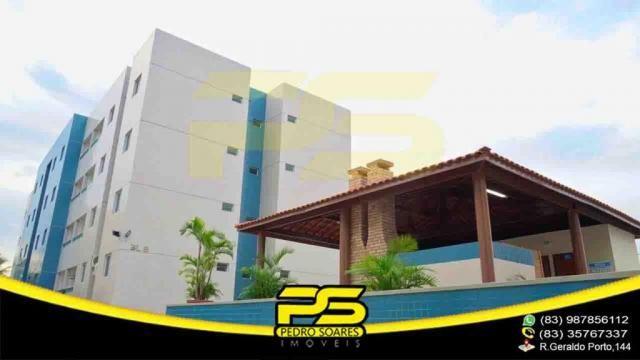 Apartamento novo, 02 quartos, piscina, churrasqueira, espaço gourmet, playground, 45,80m²