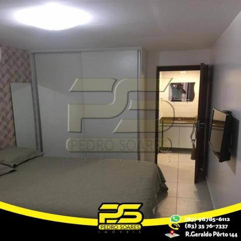 Flat com 1 dormitório para alugar, 1 m² por R$ 2.200,00/mês - Tambaú - João Pessoa/PB - Foto 3