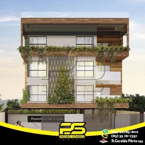 Flat com 3 dormitórios à venda, 60 m² por R$ 265.524 - Jardim Oceania - João Pessoa/PB - Foto 6
