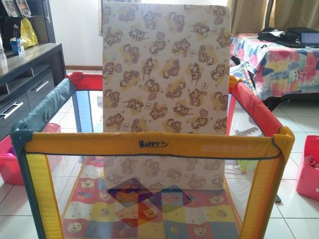 Cercadinho Burigoto(R$200); Cadeira de Descanso(R$120); Canguru(R$110)