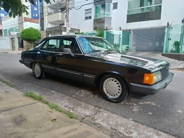Opala diplomata 1988 completo carro placa preta leia discrição - Foto 4
