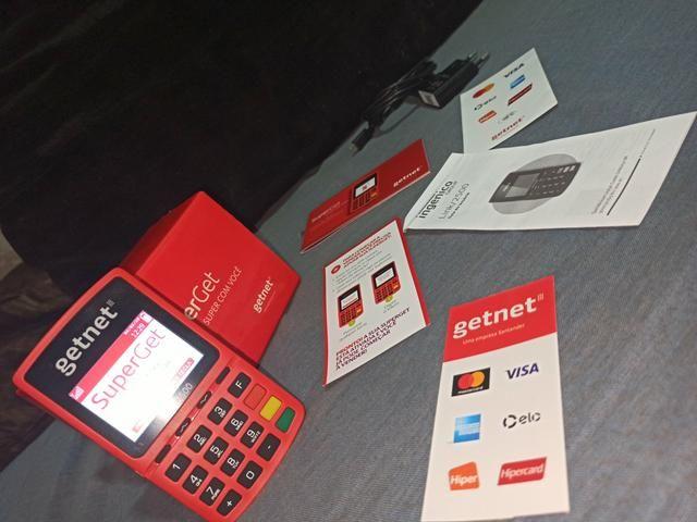 Máquina de cartão Getnet
