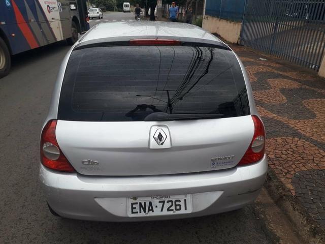 Renault Clio 09 com ar - Foto 4