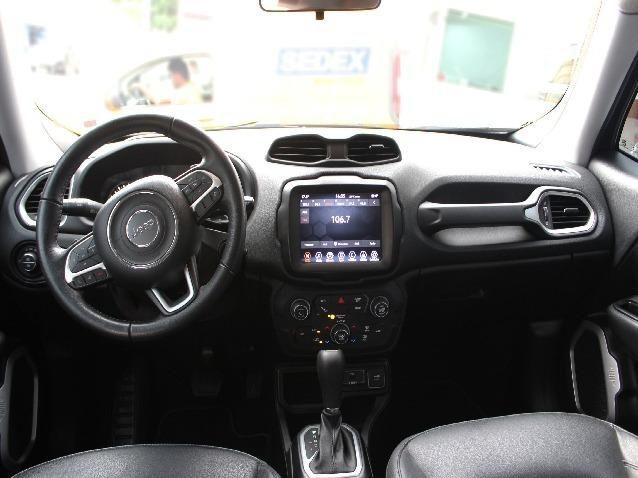 Jeep Renegade 1.8 Longitude 16V Flex 4P Completo Automático- Ano 2019*Aceito Troca - Foto 7
