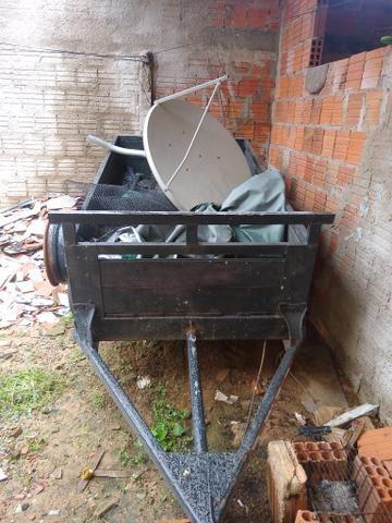 Vendo reboque pouco usado - Foto 2